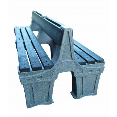 Outdoor Plastic Seat - Six Person (Double Sided)
