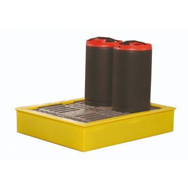 BB100 Yellow Spill Tray