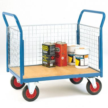 Platform Trolley - Three Sided - Deck 1200 x 800 mm - TC803M
