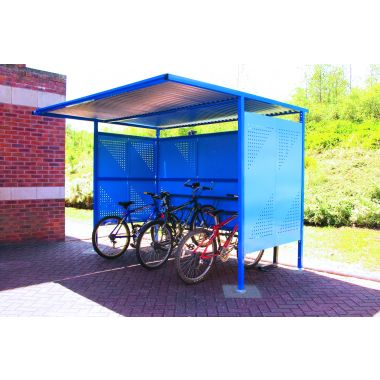 Traditional Outdoor Perforated Shelter - Large, Extra Wide