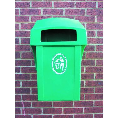 Wall / Post Mounted Litter Bin