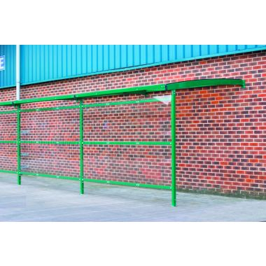 Wall Mounted Walkway Shelter Extension