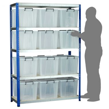 Eco Rack Kit - Twelve Storemaster Containers