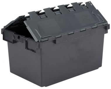 Eco Attached Lid Container - (710 x 460 x 368mm)