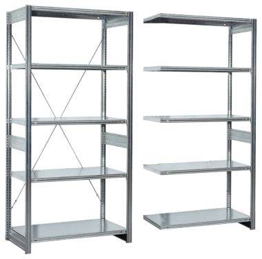 Modular Shelving System - Heavy Duty Extension Unit
