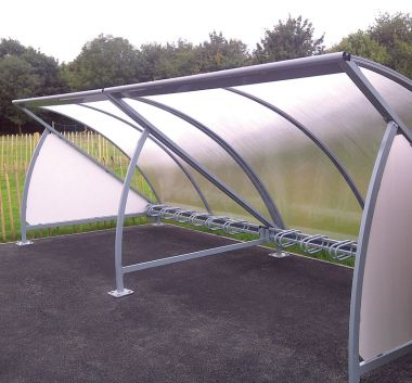 Bicycle Storage Shelter - Extension unit
