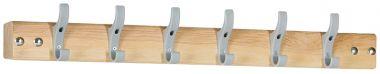 Coat Rail - Six Hooks - CRR6