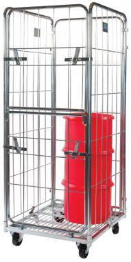 Demountable Roll Container – Medium Three Sided