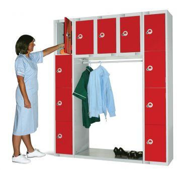 Archway Locker Unit - Eleven Compartments