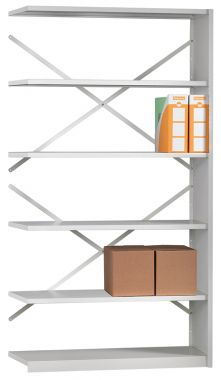 Office Shelving - Four Shelf Extension Unit