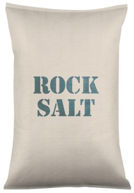 Bagged Brown Rock Salt