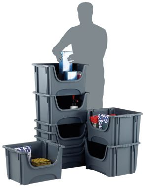 Stack Nest Storage Container (5 Pack)