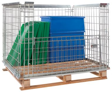 Stackable Retention Units for 1200 x 800mm Pallets