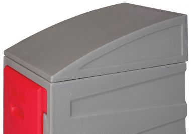 Sloping Tops for Plastic Lockers