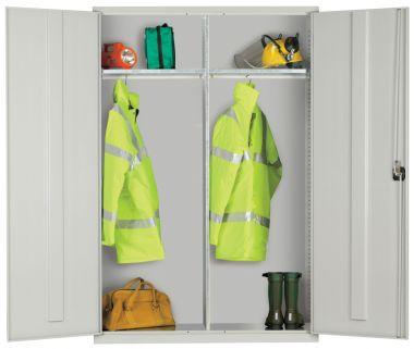 Industrial Wardrobe Cupboard - Extra Wide