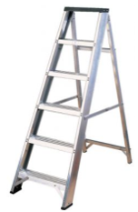 Aluminium Industrial Swing Back Ladder