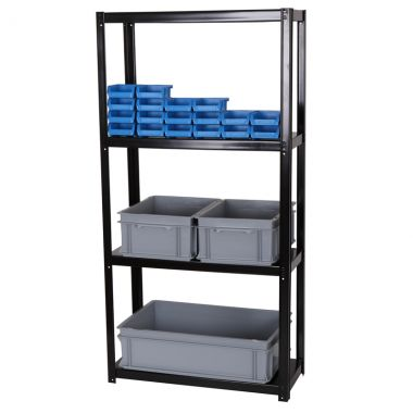 Boltless Shelving unit - Basic Four Tier