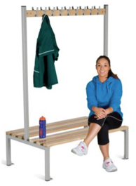 Changing Room Bench Seating - Double Sided - 1200 mm - CRDI18