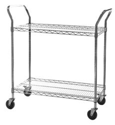 Chrome Wire Trolley - Three Tier