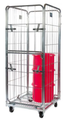 Demountable Roll Container – Small Four Sided