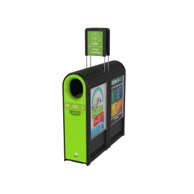Outdoor Arc Recycling Bin