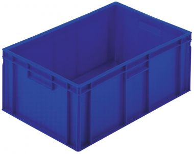 2A045 plastic stacking box (blue)