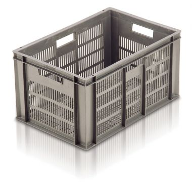 Plastic Euro Stacking Container - 600x400x319mm - 21061