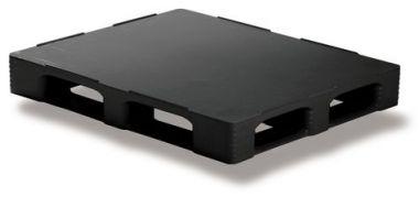 Plastic Pallet - 1200 x 1000 mm - FE1210CDRBL
