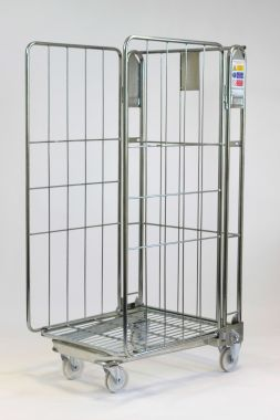 Nestable Roll Container – Three Sided