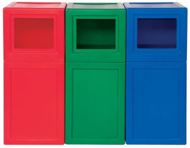SuperTuff Litter Bin – Square