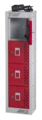 Incharge Personal Effects Lockers  - Four Door