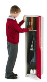 School Locker - Low Height - One Door Small - LK/S1A