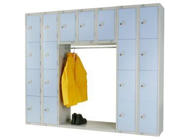 Archway Locker Unit - Nineteen Compartments