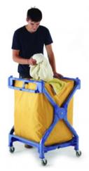 Foldable Plastic Laundry Trolley