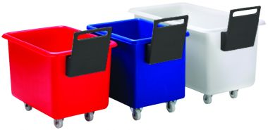Plastic Container Truck with Handle – 135 Litre