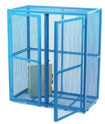 Double Door Mesh Security Cage - Medium