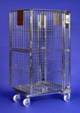 Nestable Roll Container – Split Door