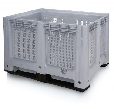 Plastic Pallet Box - 610 Litre - BP1210P