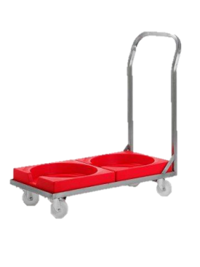 Plastic Dolly for Interstacking Tubs - RMSBDDSS