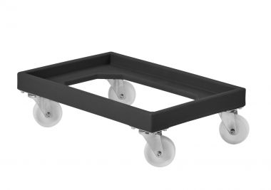 RM91DREC Black Recycled Plastic Dolly