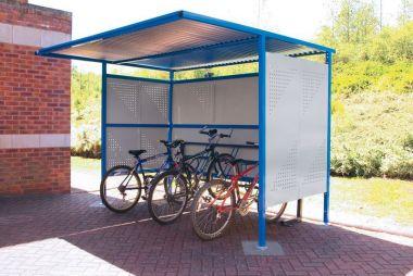 Outdoor Bike Shelter - 2.5 meter high