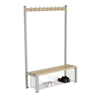 Bench Seating - Single Sided with Shoe Trays - 1200 mm - CRSI9T