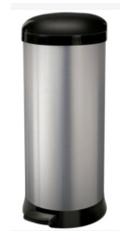 22 Litre Stainless Steel Pedal Bin