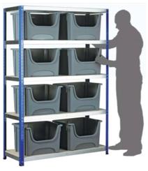 Eco Rack Kit - Space Bins