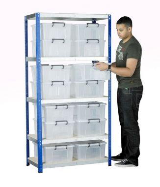 Eco Rack Kit - Fourteen Containers
