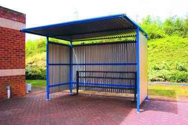 Outdoor Bike Shelter - 3 meter wide