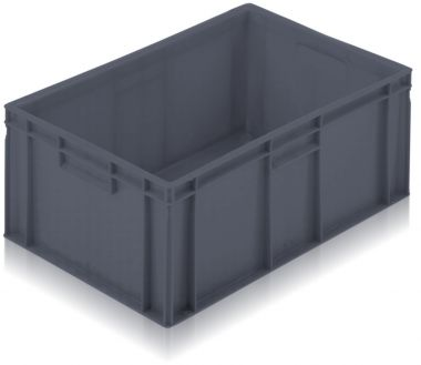 Euro Stacking Plastic Containers 600x400x235mm - 2A045