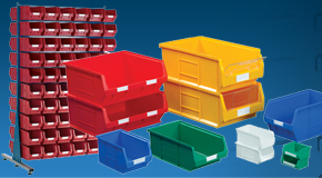 Plastic Dollies & Containers